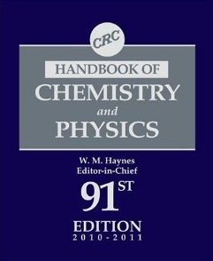 The Handbook of Chemistry and Physics - Editor William M. Haynes